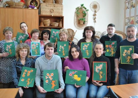 Курсы повышения квалификации педагогов. Росписи по дереву
