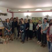 Выставка работ педагогов и студентов Рузского филиала ГАПОУ МО в  музее А.С. Пушкина
