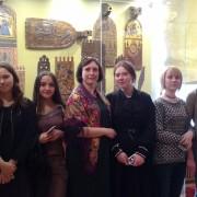 Посещение Всероссийского музея декоративно-прикладного и народного искусства.